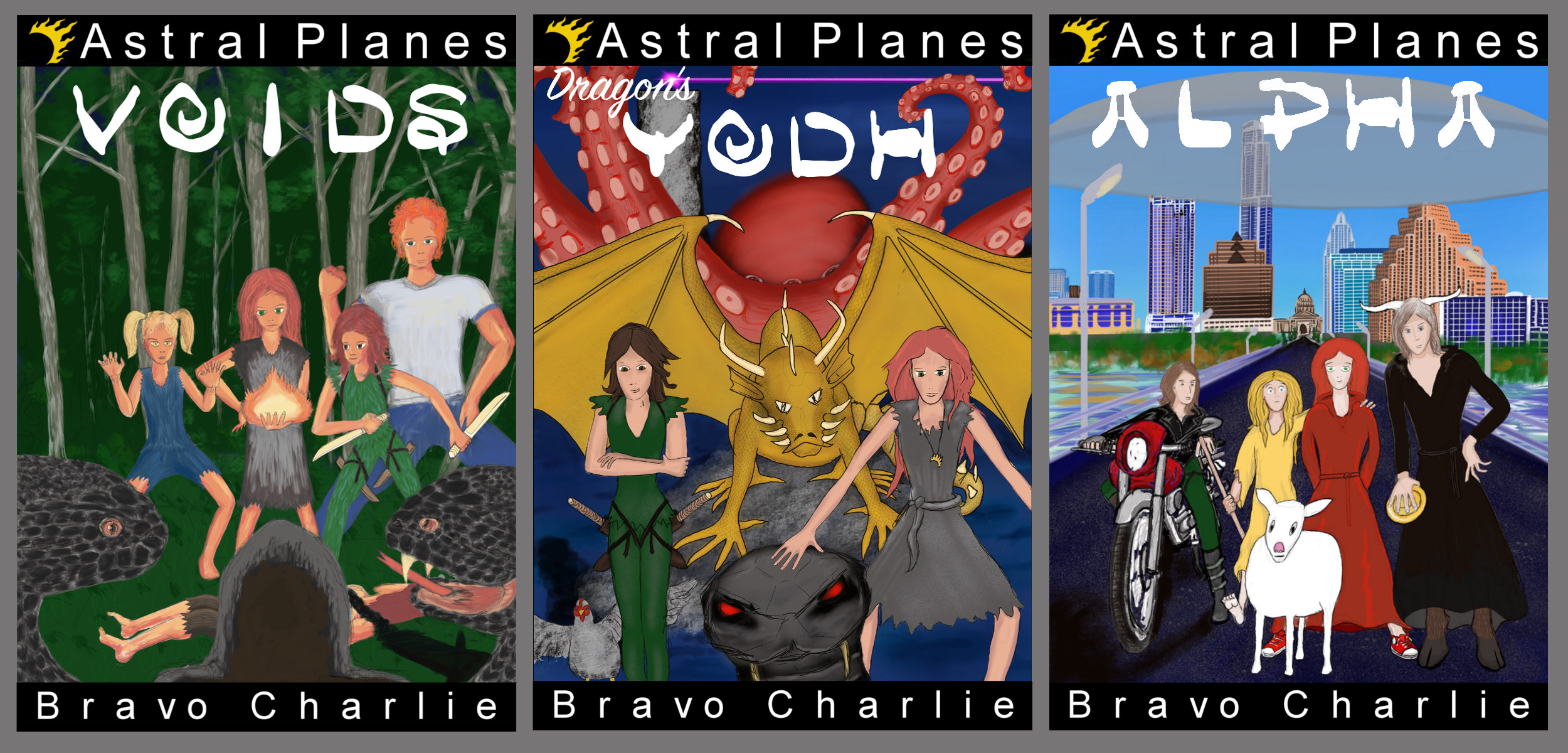 Astral Planes Fantasy Series by Bravo Charlie